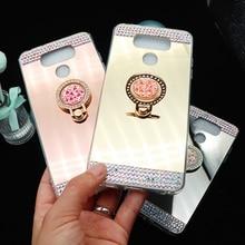 OLOEY for Coque LG G6 Case Diamond Glitter Mirror Soft TPU Silicone Cover G3 G4 G5 Funda V10 V20 V30 Cases