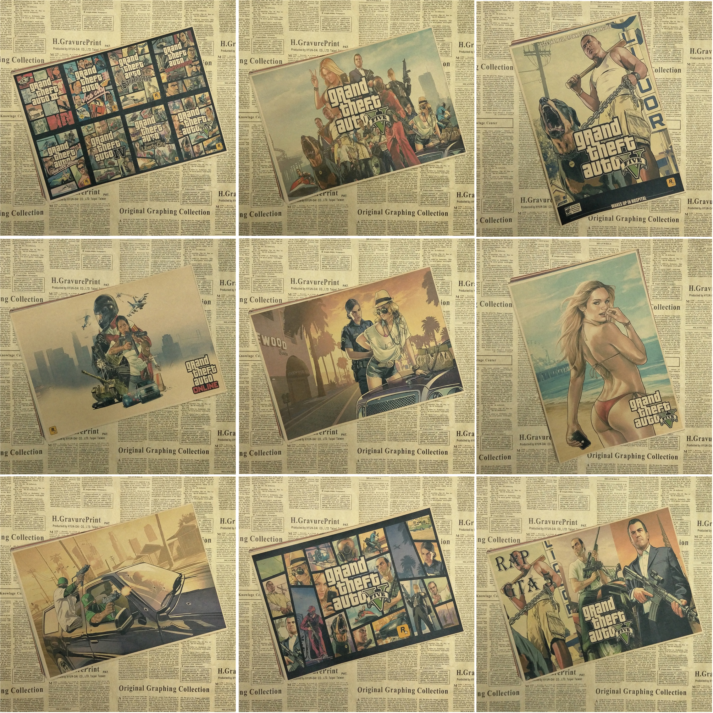 get cheap vintage auto posters aliexpress alibaba