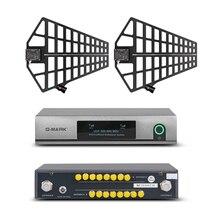 O amplificador G MARK m da antena do microfone 500 que recebe a distância resiste o vento forte apropriado para o uso exterior