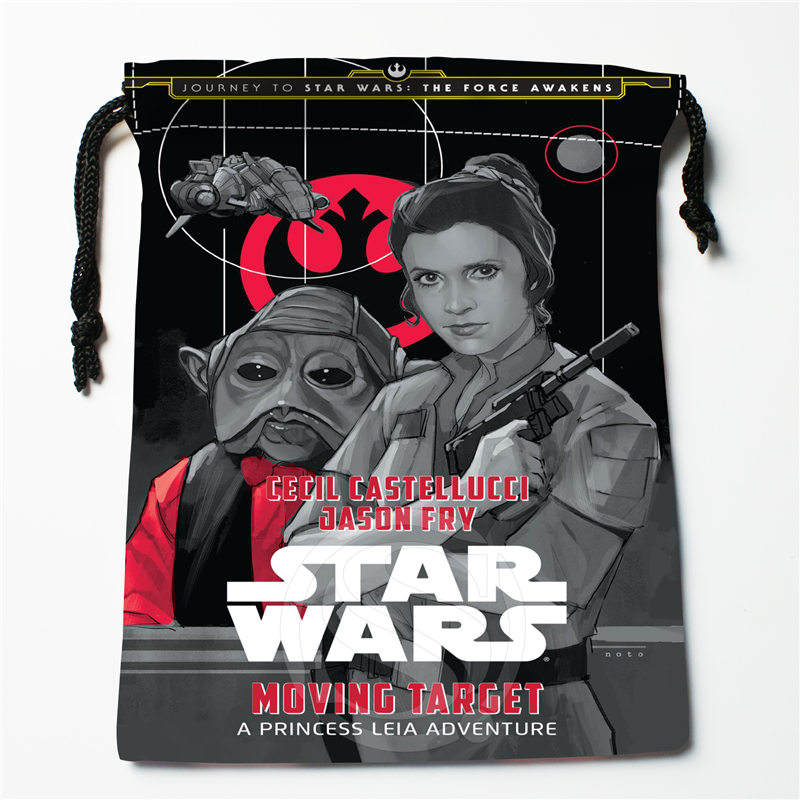 J&w85 Hot Star Wars Custom Printed  Receive Bag Compression Type Drawstring Bags Size 18X22cm W725&l85DW