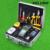 KELUSHI 30 em 1 Kit de Ferramentas De Fibra Óptica FTTH com Fibra HS-30 de Cleaver Optical Power Meter 10 mW Visual Fault Locator cable tester