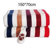 Electric Blanket Thicker Heater Double Body Warmer 150*70cm Heated Thermostat Heating