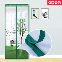 High Quality Screen Mesh Sheer Door Curtain Anti Mosquito Net Insect Magic Mosquito Curtain Closed Door