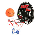 Venda quente mini tabela de basquete hoop net set com bola de basquete indoor sports jogar o jogo para a criança crianças favorecem presentes