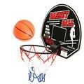 Venta caliente mini red del aro de baloncesto tablero conjunto con canasta cubierta sports juego para niños kids favor regalos