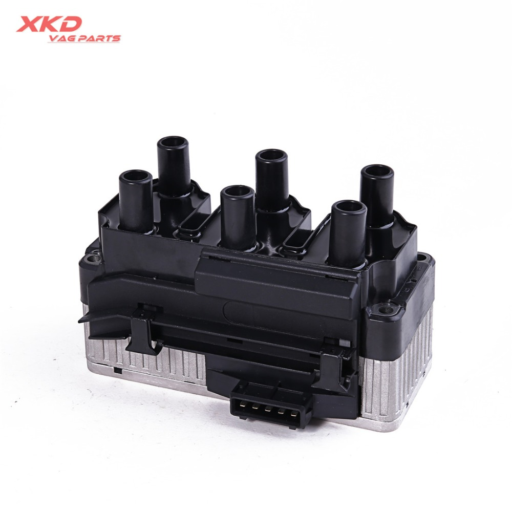 small resolution of automotive parts new ignition coil pack for vw golf gti vr6 jetta bora beetle rsi seat leon 021 905 106 in ignition coil from automobiles motorcycles on