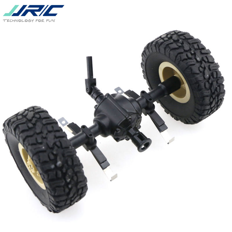 JJRC Q60 1/16 2.4G Off-Road Military Trunk Crawler RC Car Spare Part Replacement Accessories Central Bridge Axle(China)