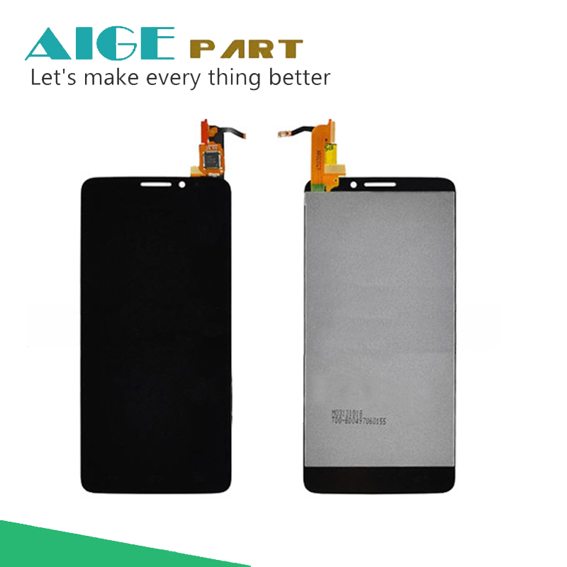 ФОТО 100% New For Alcatel One Touch Idol X OT6040 6040 6040D 6040E 6040A OT-6040D LCD Display With Touch Screen Digitizer Assemblely