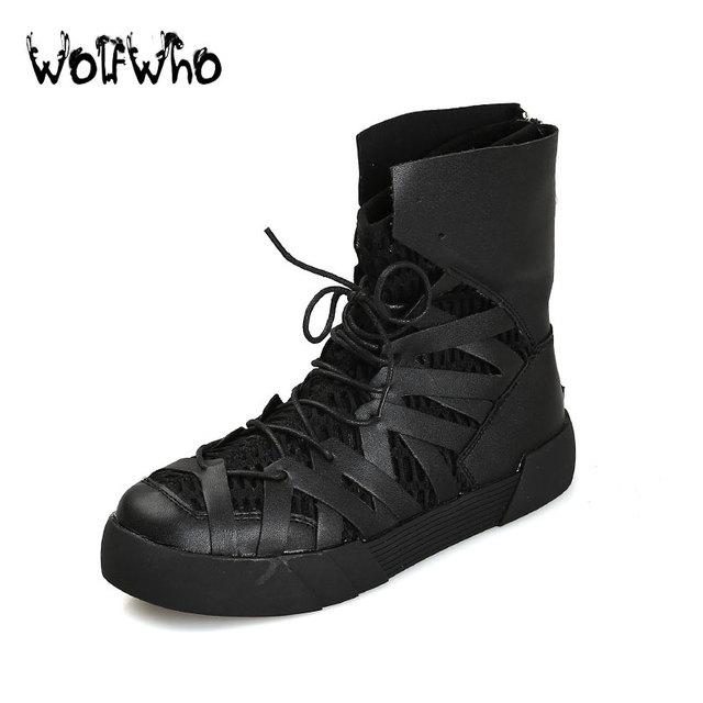 Nuevos Hombres Clásicos Oro Zapatos Planos de Los Hombres Zapatos Casuales de Alta Top Botas de Moda Al Aire Libre Para Los Hombres Respirables Cómodos Zapatos Hombre