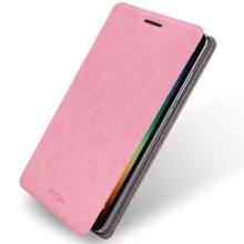MOFI Телефонные чехлы для Xiaomi Redmi Note 3 В виде ракушки Руи серии PU кожаный чехол для Redmi Note 3 Mobile Телефон Сумка-розовый
