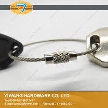 Китай завод прямой из нержавеющей стали кабель кольцо для наружного подвесного кольца 10 шт./упак. провода веревки кабельный замок с пряжкой