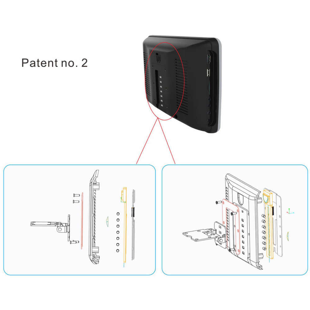 Detail Feedback Questions about Car Headrest DVD Player 10.1 ... on