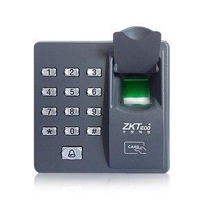 Image 2 - Volledige set Vingerafdruk + RFID EM kaarten Deurslot Toegangscontrole Controller Kit voor toegangscontrole met magnetische lock