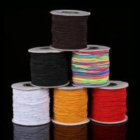 6colors 1mm 100m Spool Nylon Cord Elastic String Strap Bracelet Braided String Fit Necklace Bracelet DIY