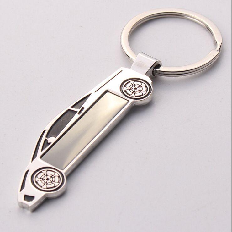 FREE SHIPPING BY DHL 100pcs lot Newest Car Keyrings Truck Shaped Key Chains Custom Key Holders