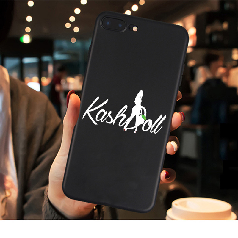 , KASH DOLL BLACK AMERICAN D phone case for iPhone X XR XS Max 8 7 6s Plus 5s for Samsung Galaxy s8 s9 plus s7 Edge phone cases