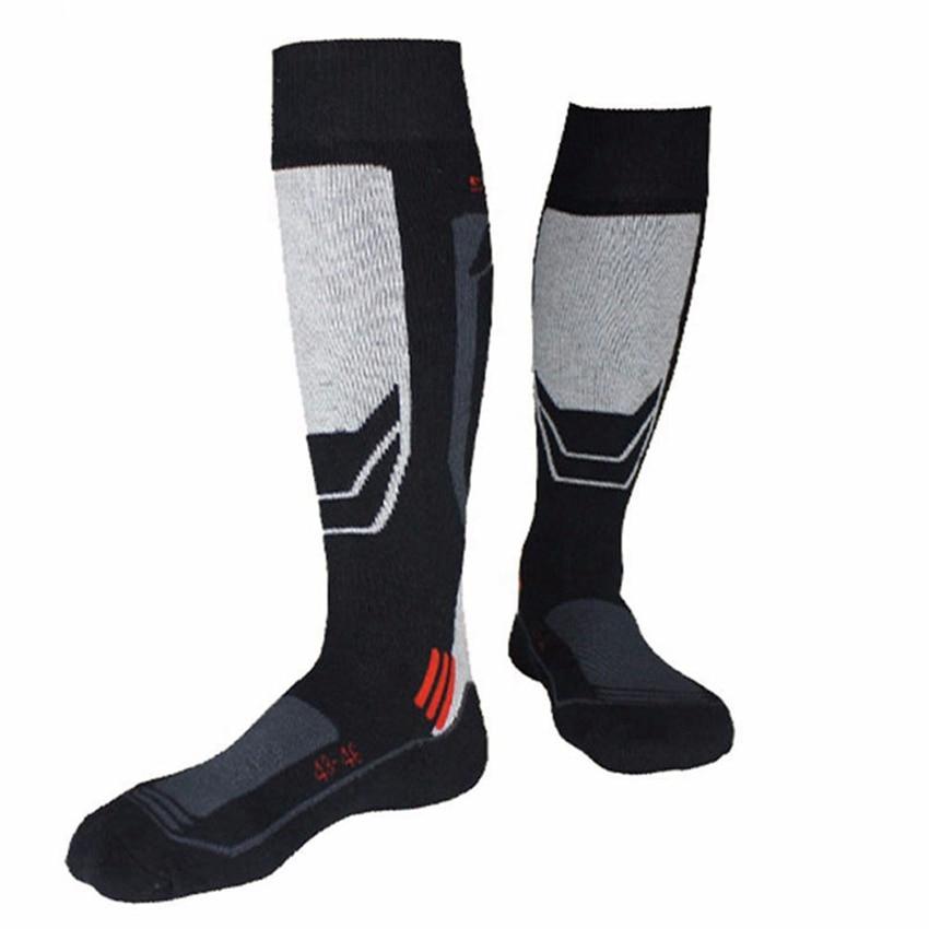 Men Womn Winter Cotton Thermal Ski Socks Sports Running Cycling Leg Warmers Socks Hiking Camping Climbing Stockings