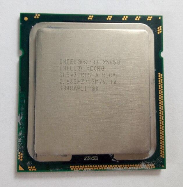 Бесплатная доставка для Intel Xeon X5650 шестиядерных ПРОЦЕССОРА сервера 2.66 Г