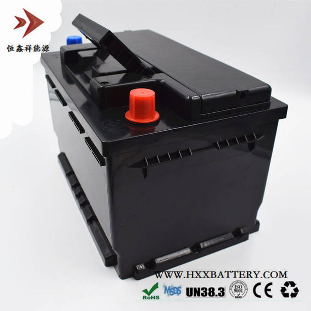12 8v 60ah 768w Lifepo4 Lithium Iron Phosp Lfp Battery Pack With Bms For Car Vehicle Long Life Deep Cycles 800a Cca