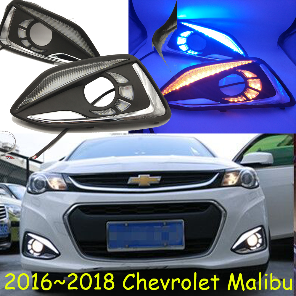 Malibu daytime light,2016~2017;Free ship!LED,Malibu fog light,cruze;astra,astro,blazer,beretta,suburban,zafira,malibu headlight цена и фото