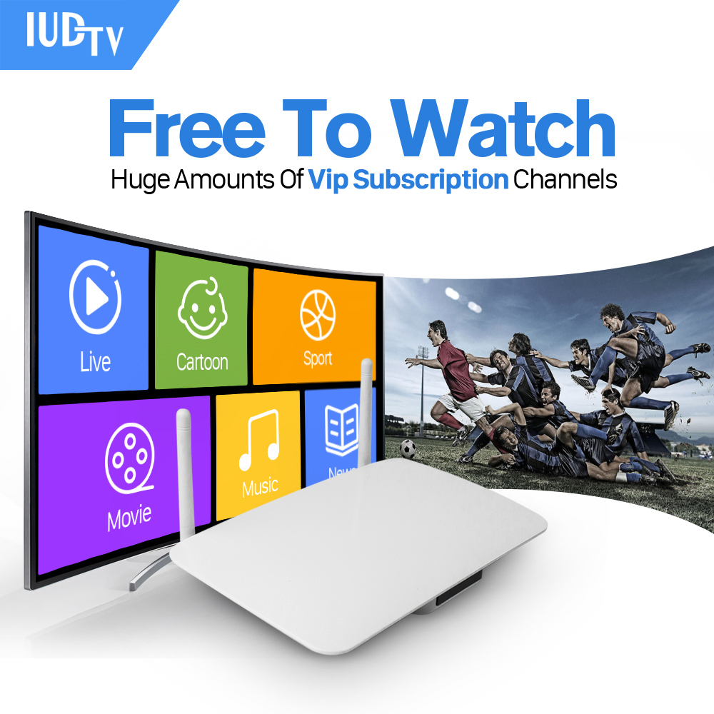 RK3128 Android TV BOX Smart Tv Media Player Fully Loaded Europe Iptv Subscription Arabic Italy Spain French IPTV Player gotit cs918 android 4 4 tv box with 1year arabic royal iptv europe africa latino american iptv rk3128 media player smart tv box