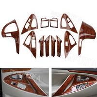 12Pcs Car Inner Console Center Dashboard Decor Cover Trim For Toyota Camry 2006 2011