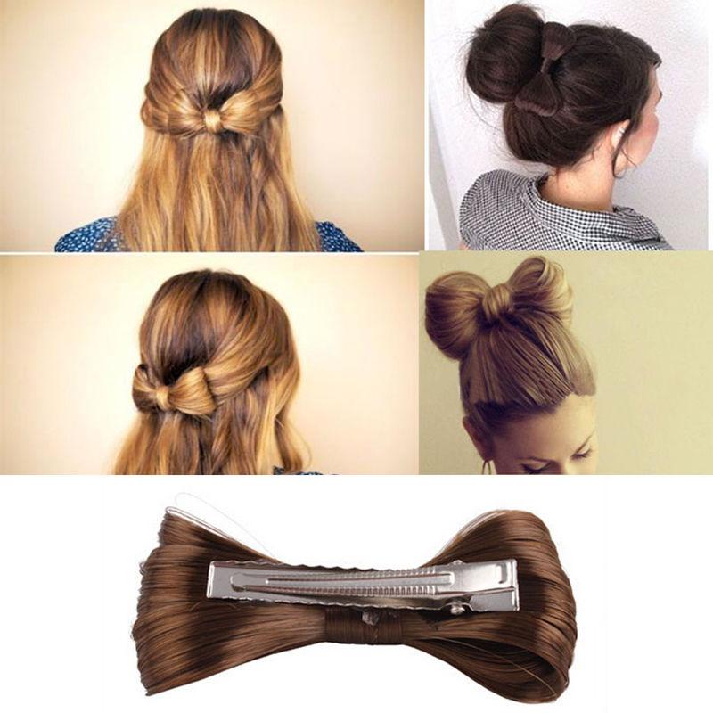Fashion Women/'s Girl/'s Nice Big Bow Hair Clip Hairpin