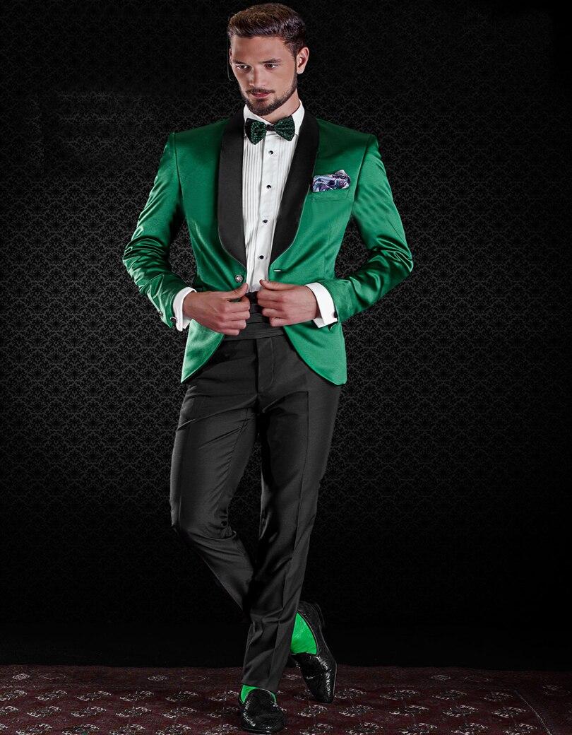 Popular Green Prom Tuxedo-Buy Cheap Green Prom Tuxedo lots from