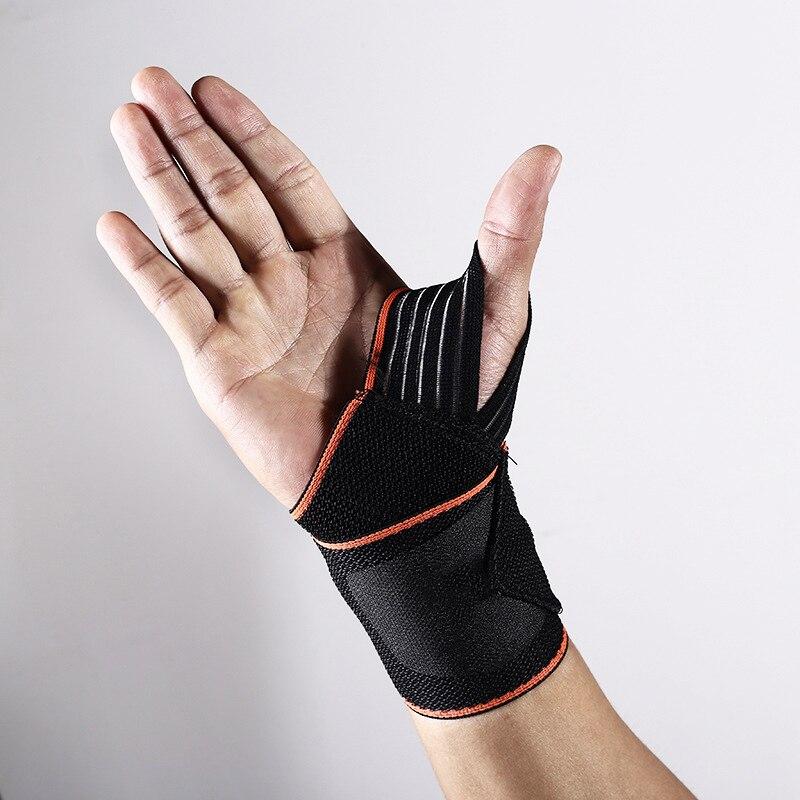 Sports Wrist Bandage Wrist Men Support Wristband Protector basketbol bileklik Wrist Weight Sweatband Gym Strap Brace Wristband