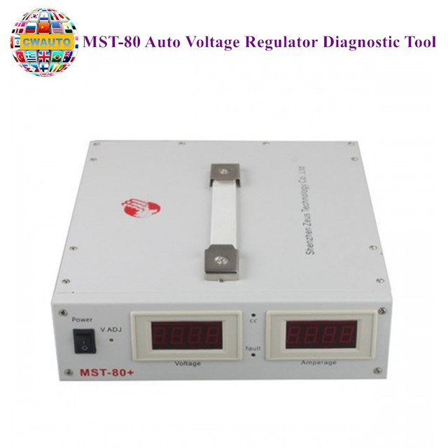 MST-80 Auto Voltage Regulator Diagnostic Tool For GT1 OPS ICOM Programming User-Friendly