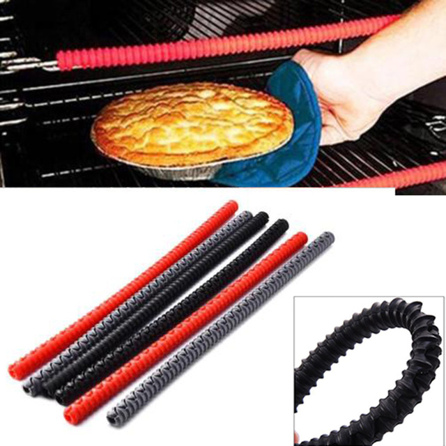 Oven Shelf Protector Silicone Oven Rack Guard Heat Resistant Avoid Burns