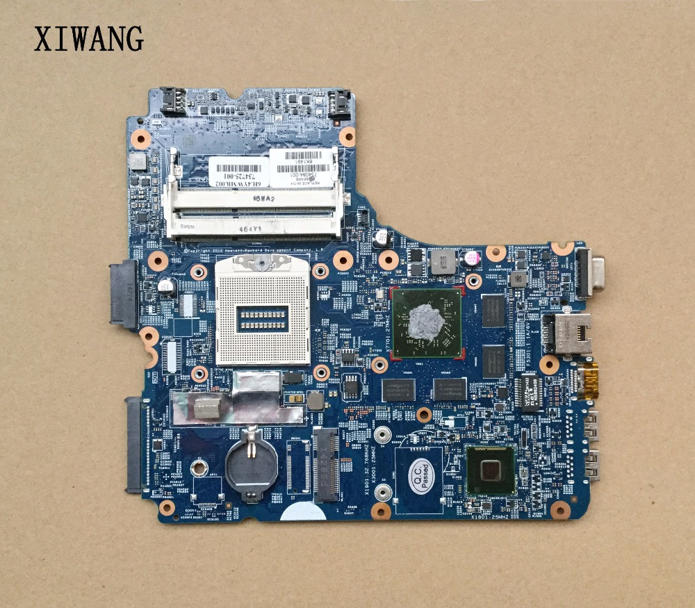 цены на 734084-001 734084-501 734084-601 Mainboard Motherboard For HP 450-G1 470 440 G1 48.4YW05.011 Laptop Motherboard