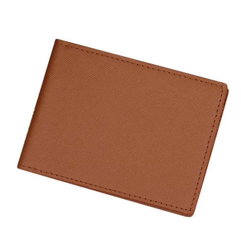 wo weino Fashion PU Leather Men Card Wallet Short Design Male Purse With Cards Holder Slim Wallet Money Purse men's Wallets metal ring holder combo phone bag luxury shockproof case for samsung galaxy note 8