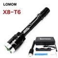 10w T6 Strong Light 500m Long Range Flashlight Defense Lantern 18650 Bright Led High Power Rechargeable Torch Fishing Hunting