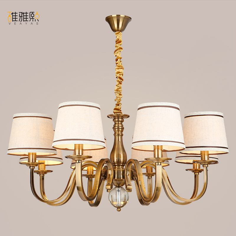 AC110V 220V Noble Luxurious Export K9 Clear Crystal Chandelier 3 5 6 8 10 Arms Export