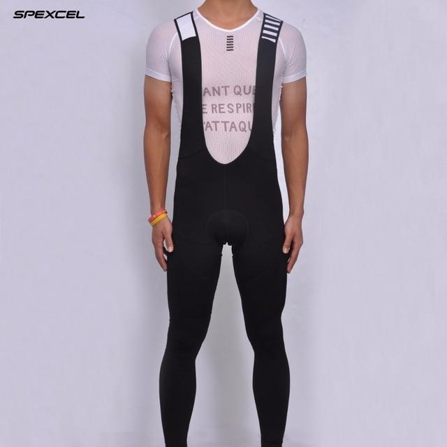 Цена за 2017 РСС низкопрофильный дизайн классический полный черный тепловые Bib брюки Тепловой руно ткань для 8 20 градусов гонки велоспорт колготки