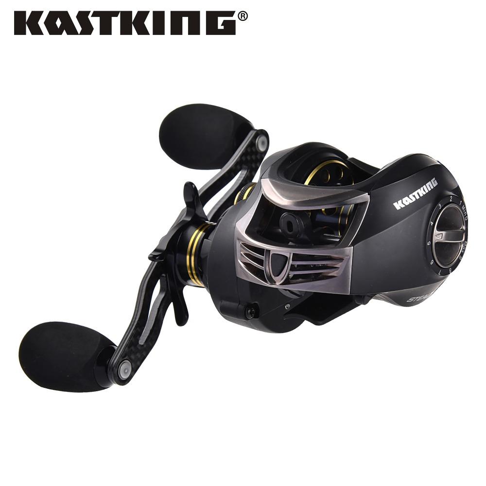 Prix pour KastKing Marque Furtif Double Système De Frein 11 + 1 BB Haute Vitesse Baitcasting Reel Gear Ratio 7.0: 1 Spinning Moulinet de pêche