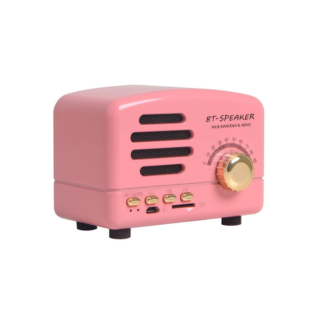 Shortwave Pocket Portable Stereo Speaker Bluetooth AM FM Home Support Card Retro Mini Radio Receiver With Rechargeable Battery Pakistan
