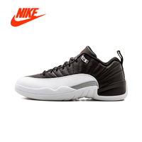 Original New Arrival Authentic Air Jordan 12 Retro Low Playoff Mens Basketball Shoes Sneakers Breathable Sport Outdoor