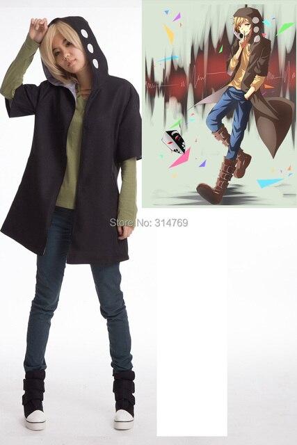 Новый аниме Kagerou Проект Косплей костюмы плащ Кано шууя Cos пальто + футболки для Хэллоуина Вечерние
