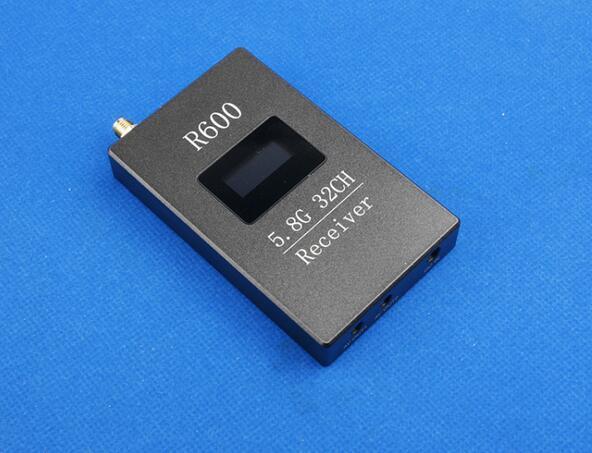 Skyzone RC832H R600 FPV 5 8G 32CH High Sensitivity A V Receiver RX W LED Display