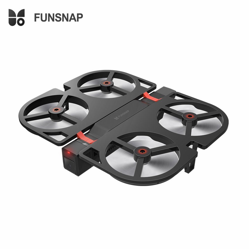 FUNSNAP iDol 2.4G RC Drone Foldable GPS Quadcopter with 120'Pitch 1080P HD Wifi FPV Camera Optical Flow Positioning Gesture fz funsnap idol 2 4g rc drone foldable gps quadcopter with 120 pitch 1080p hd wifi fpv camera optical flow positioning gesture fz