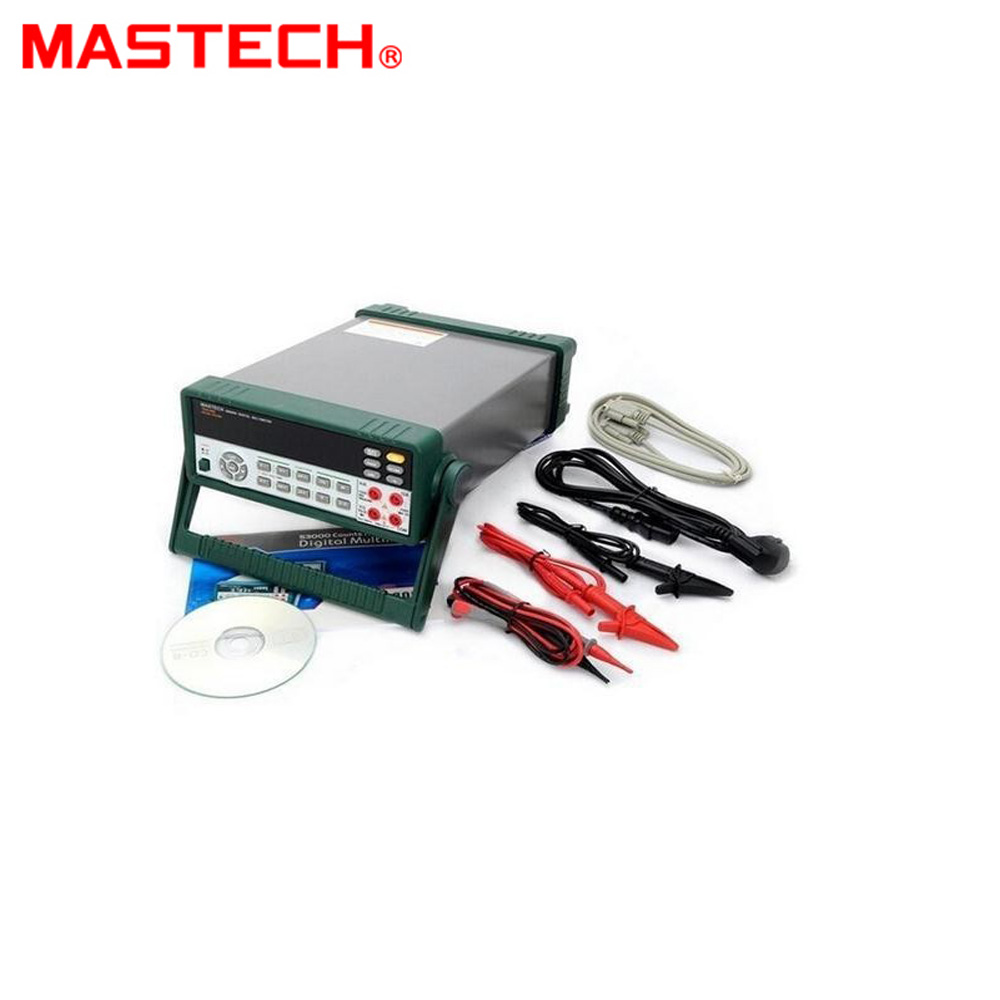 MASTECH <font><b>MS8050</b></font> Professional Desktop Digital Multimeter Auto Range Bench Top Multimeter High Accuracy True RMS RS232C image