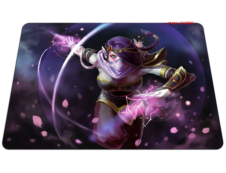 dota2 mousepad Templar Assassin gaming mouse pad Indie Pop gamer mouse mat pad game computer desk padmouse keyboard play mats