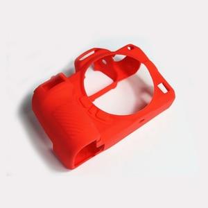 Image 2 - Высококачественный мягкий силиконовый чехол Защитный чехол для корпуса защитная рамка для Nikon Z7 Z6 аксессуары для камеры с ручкой для очистки