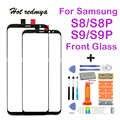 S8 voor glas vervanging Voor samsung galaxy s8 plus scherm reparatie Voor Outer Glas Lens Voor galaxy s9 plus + Tool