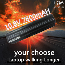 цена на HSW Laptop Battery G42 G62 G56 MU06 586007-541 593553-001 593554-001 593562-001 HSTNN-UB0W WD548AA For HP CQ32 CQ42  bateria