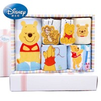 Disney Children face Towel 100% Cotton Gauze mouth water towel 6pcs/lot gift packaging A gift for Newborn Baby Child