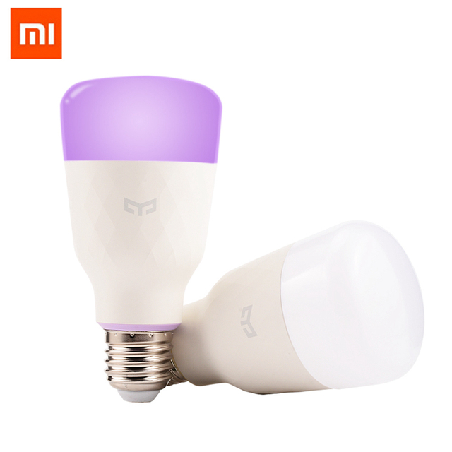 Individualist Xiaomi mijia smart LED bulb improbable control wifi LED...