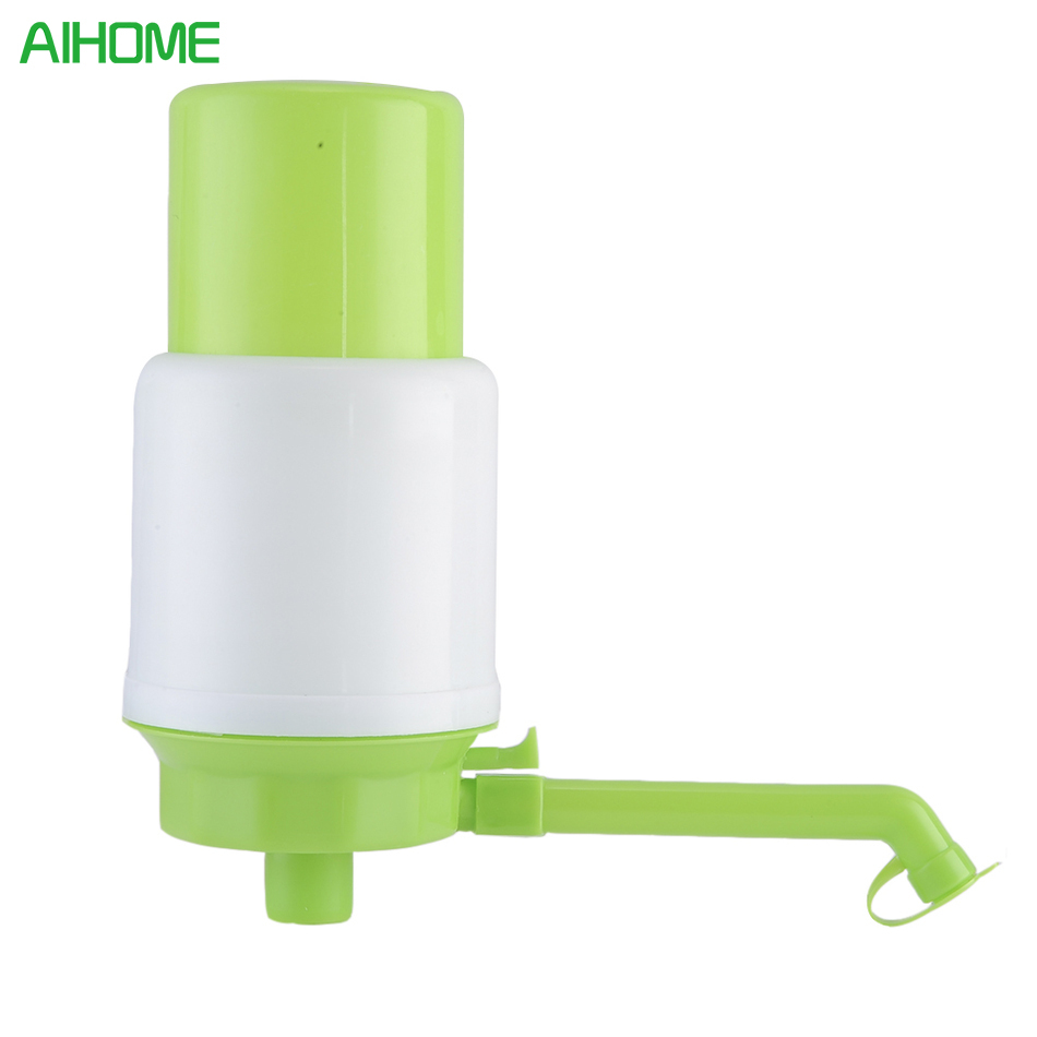 Gallon Bottled Drinking Water Hand Press Vacuum Action Manual Pump Dispenser With Hose E ...